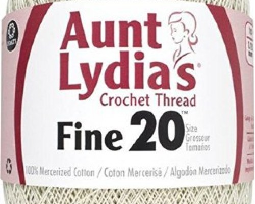 Aunt Lydia'S Fine Crochet Size 20 ( 1-Super Fine ,65g )