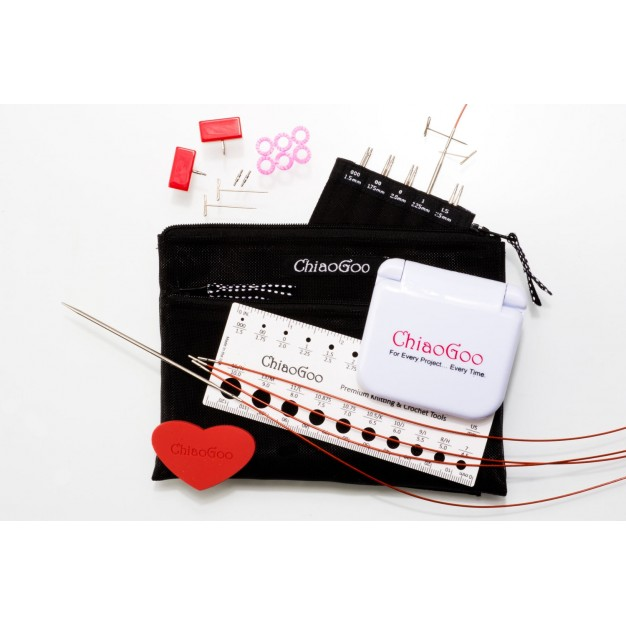 Chiaogoo Gift Set- Interchangeable Twist Lace Stainless Steel Set 4 inch