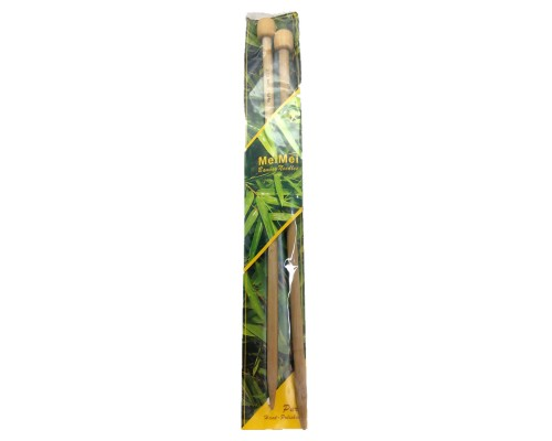 "MeiMei Bamboo 14""(35cm) Single Point Knitting Needle - CLEARANCE"