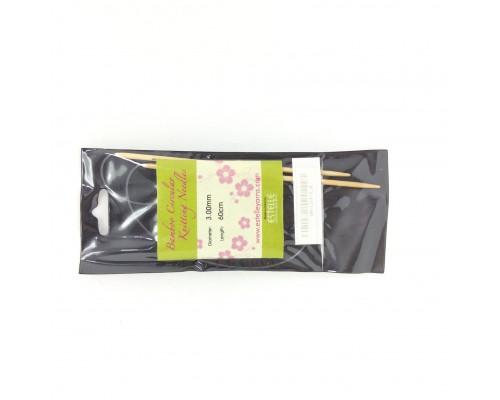 "Estelle Bamboo 24"" Circular Knitting Needle - CLEARANCE"