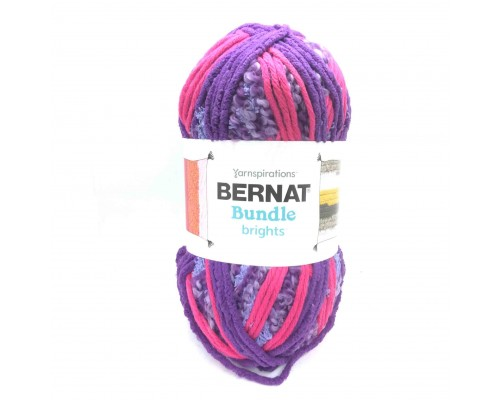 Bernat Bundle Brights Stripes (6-Super Chunky, 250g) - CLEARANCE