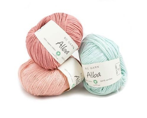 BC Garn Alba (GOTS) Yarn  ( 3 - Light , 50g )