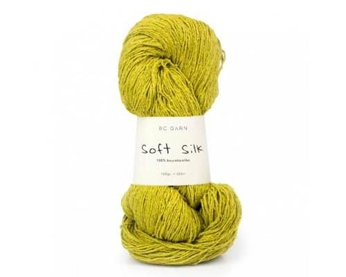 BC Garn Soft Silk Yarn  ( 3 - Light , 100g )