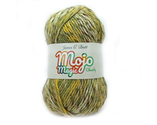 James C. Brett Mojo Magic ( 5-Bulky ,100g )