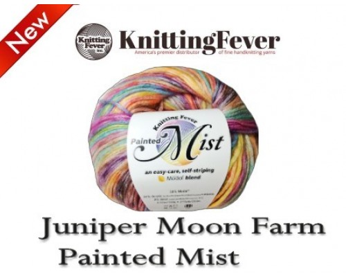 Knitting FeverInc Painted Mist Yarn