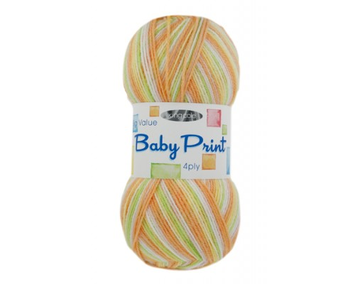 KingCole Big Value Baby 4 Ply Print  ( 1-Super Fine,100g )