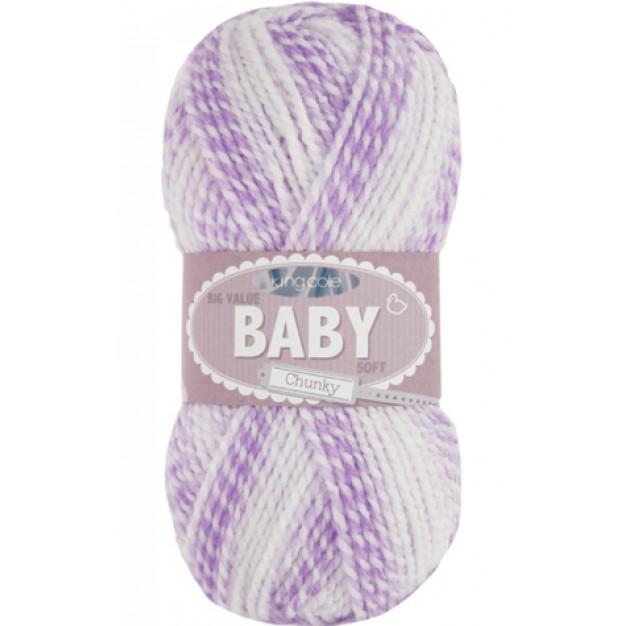 KingCole Big Value Baby Soft Chunky  ( 5-Bulky,100g )
