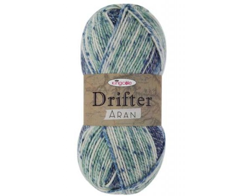 KingCole Drifter Aran ( 4-Medium,100g )