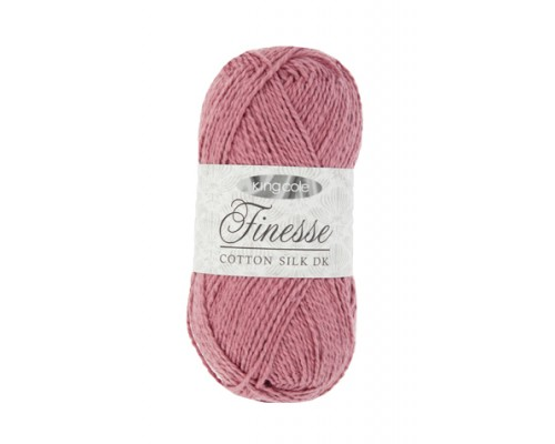 KingCole Finesse Cotton Silk DK ( 3-Light,50g )