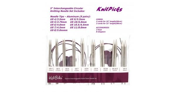 "Prym 24/"" Knitting Circular Needle Size 10 Nickel Plated"