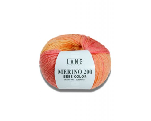 Lang Merino 200 Bebe Color ( 1-Super Fine ,50g )