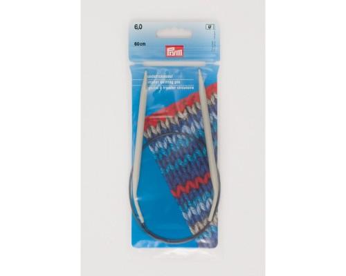 """Prym/Inox 24"""" (60cm) Aluminum Circular Knitting Needle"""