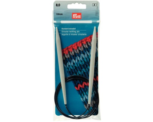 """Prym/Inox 40"""" (100cm) Plastic Circular Knitting Needle"""