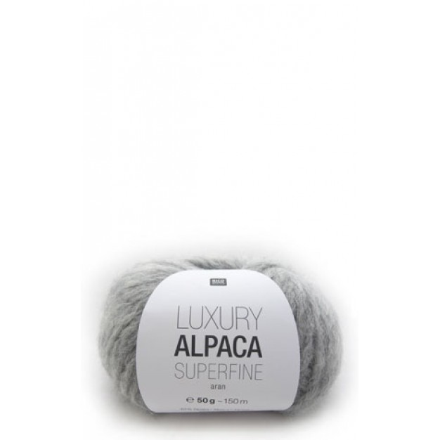 Rico Luxury Alpaca Superfine Aran Yarn  ( 4 - Medium )