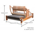 Ashford Table Loom Multi Shaft Loom - Lacquered