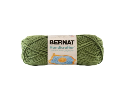 Bernat Handicrafter Cotton Small Ball Yarn( 4 - Medium, 42.5g/50g )