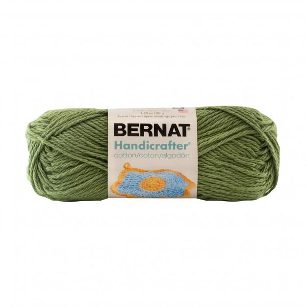 Bernat Handicrafter Cotton Small Ball Yarn( 4 - Medium, 42.5g/50g )