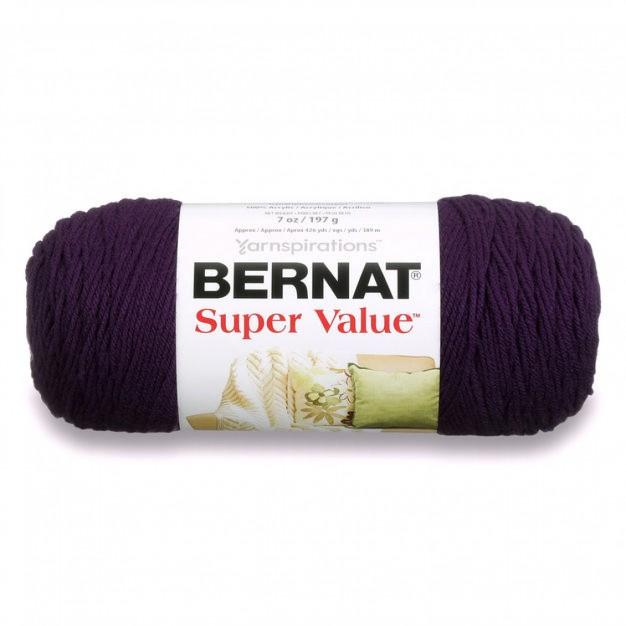 Bernat Super Value Yarn ( 4 - Medium, 197g/142g )