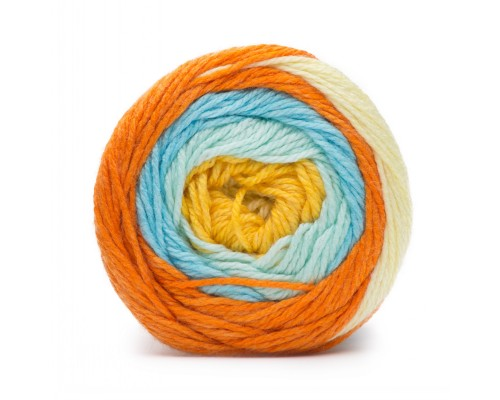 Bernat Softee Baby Stripes Yarn (3-Light ,120g )