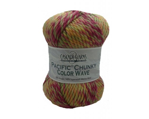 Cascade Pacific Chunky Color Wave ( 5-Bulky ,100g )