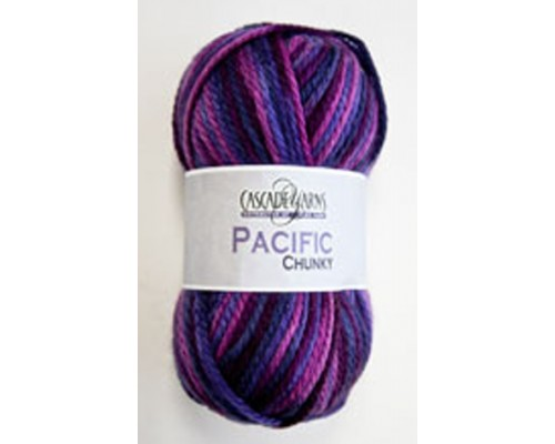 Cascade Pacific Chunky Multi ( 5-Bulky ,100g )