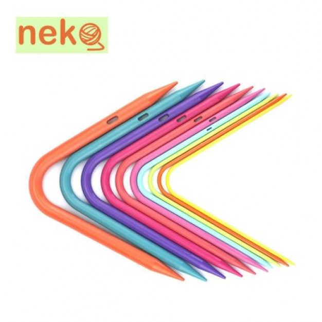 Neko Curved Double Pointed Needles