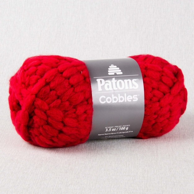 Patons Cobbles Yarn (6-Super Chunky, 100g) - CLEARANCE