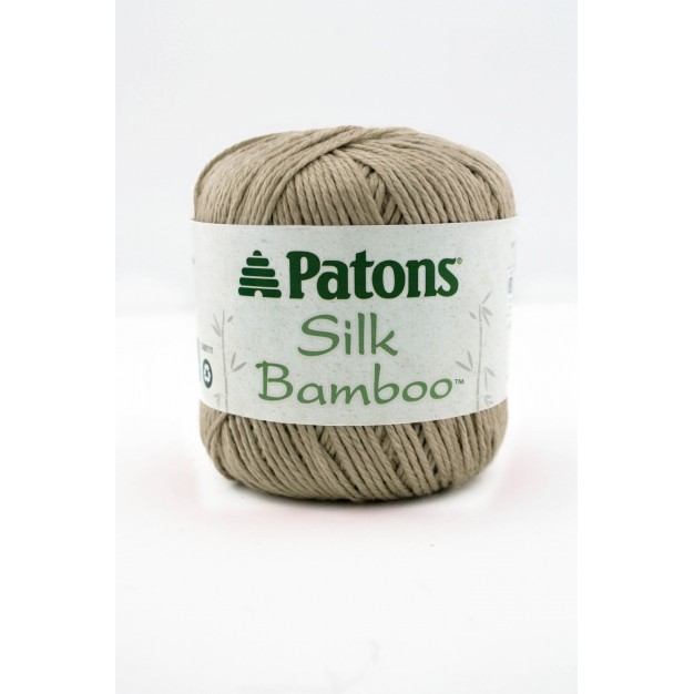 Patons Silk Bamboo Yarn (3 - Light ,65g )