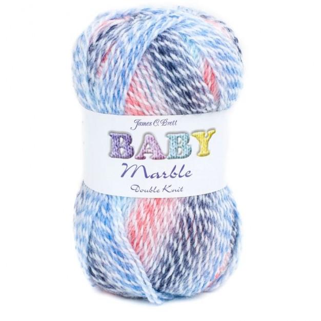 SMC Baby Marble DK Yarn (3-Light ,100g )