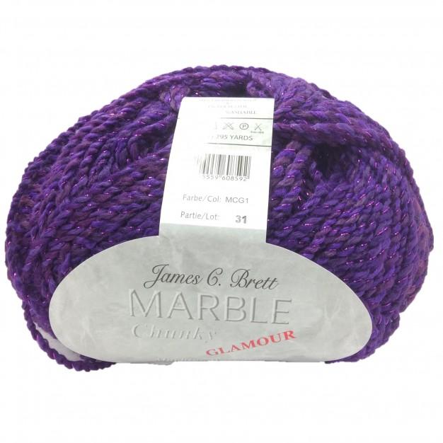 SMC Marble Chunky Glamour Yarn ( 5-Bulky ,200g )